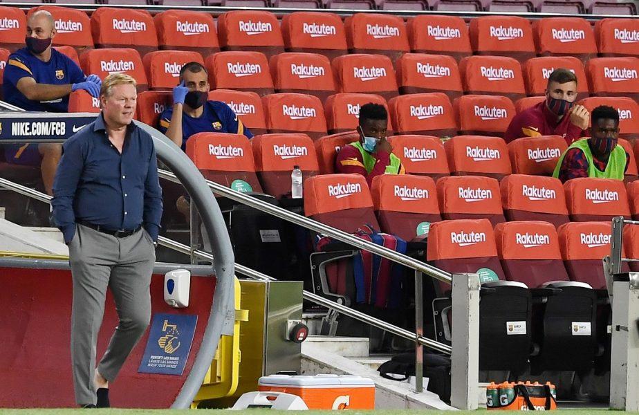 Barcelona mută decisiv pe piața transferurilor. Koeman își aduce jucătorul pentru care a insistat încă de la venirea pe Camp Nou