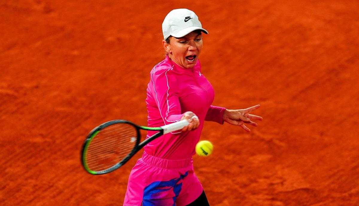 """Simona Halep – Sara Sorribes Tormo 6-4, 6-0. Campioana noastră a început ca din tun Roland Garros 2020! Românca și-a """"distrus"""" adversara. A câștigat 10 game-uri la rând și s-a calificat în turul 2"""