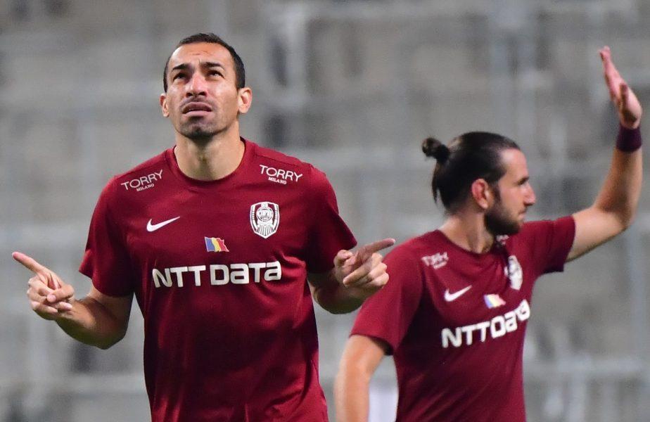 CFR Cluj – Chindia Târgoviște 0-0. Surpriză în Gruia! Al doilea meci acasă fără gol marcat. Dan Petrescu a odihnit șase jucători