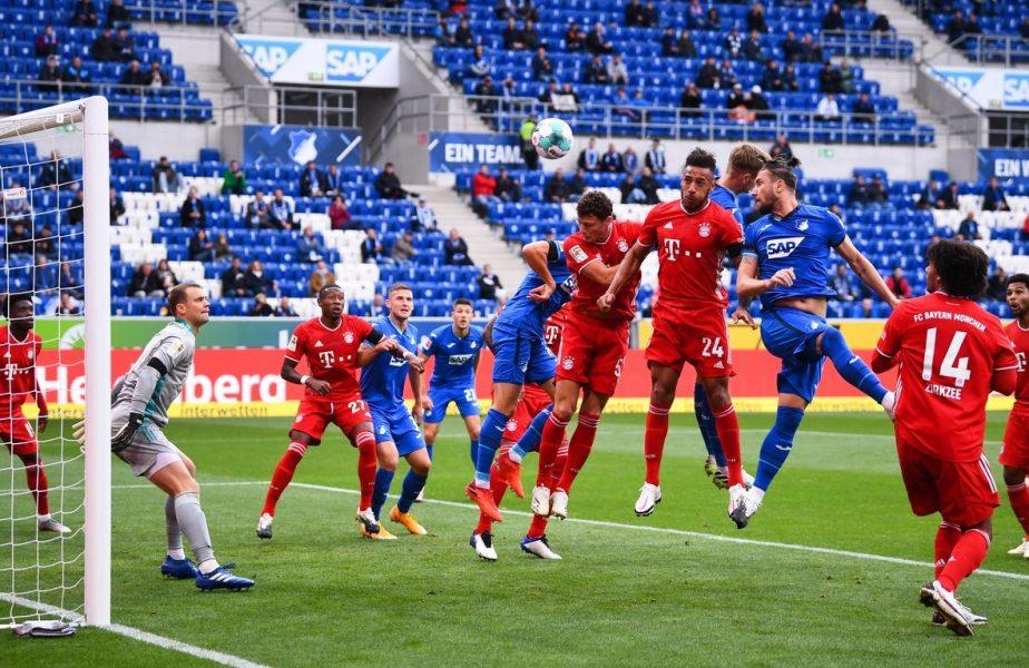 Hoffenheim înscrie pentru 1-0 în partida cu Bayern