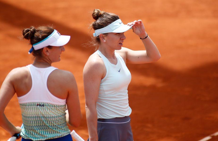 Simona Halep şi Irina Begu
