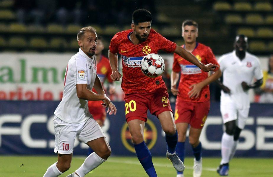 OUT după un meci! FCSB renunță la Caiado și Karanovic. Cei doi se întorc la Sibiu după ce nu au impresionat la roș-albaștri