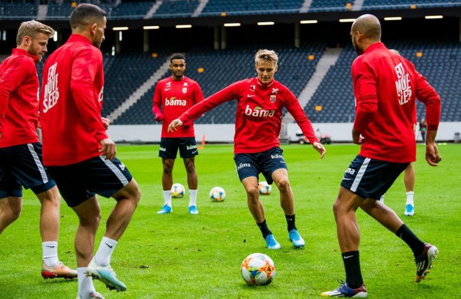 Să vină Odegaard și Haaland! Norvegia și-a anunțat lotul pentru meciul cu România. Greii de la Real și Dortmund, față în față cu băieții lui Rădoi