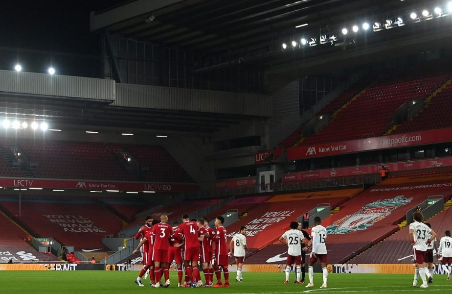 """Liverpool – Arsenal 3-1. Campionii Angliei au făcut show pe Anfield! Sadio Mane, """"călăul"""" londonezilor"""