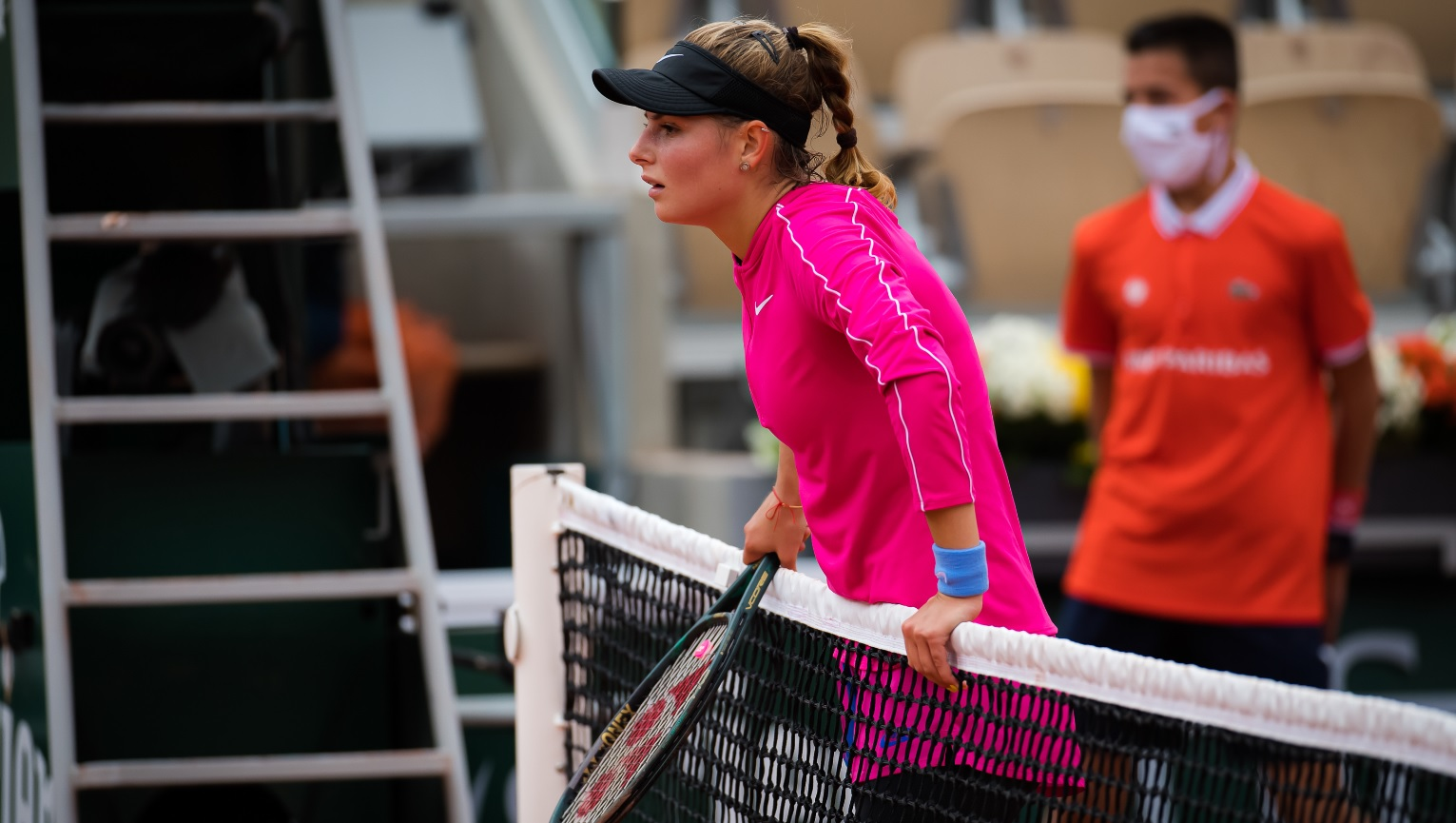 """Scene uluitoare la Roland Garros! Zavatska a început să plângă pe teren. """"Așa ceva n-am pățit în toată cariera"""""""