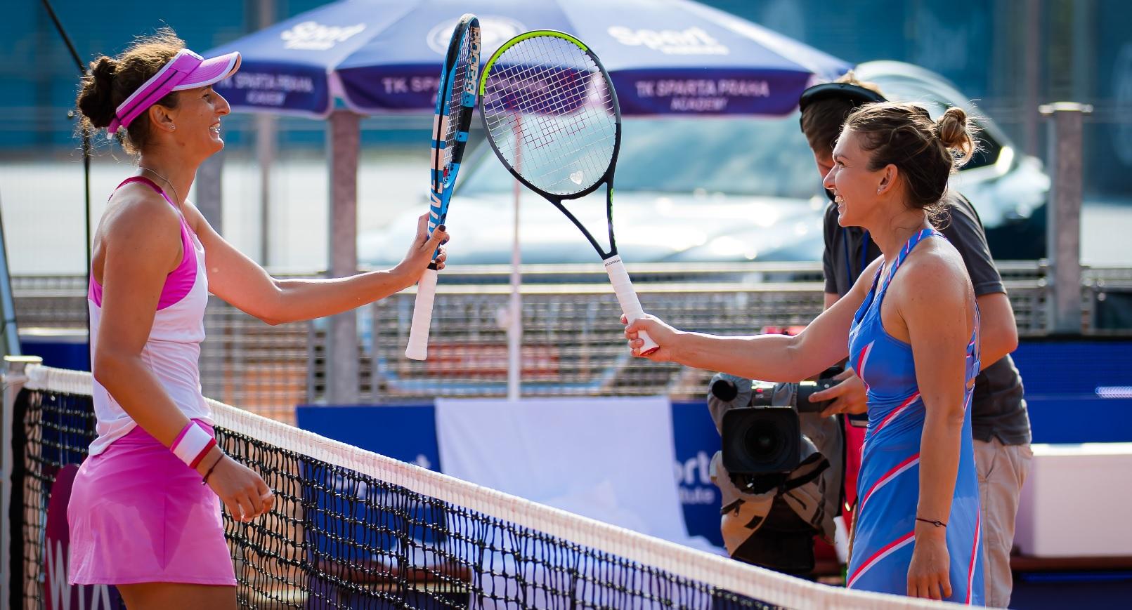 """Simona Halep – Irina Begu 6-3, 6-4! """"Simo"""" îşi continuă marşul spre al doilea titlu la Roland Garros. Irina a luptat admirabil"""