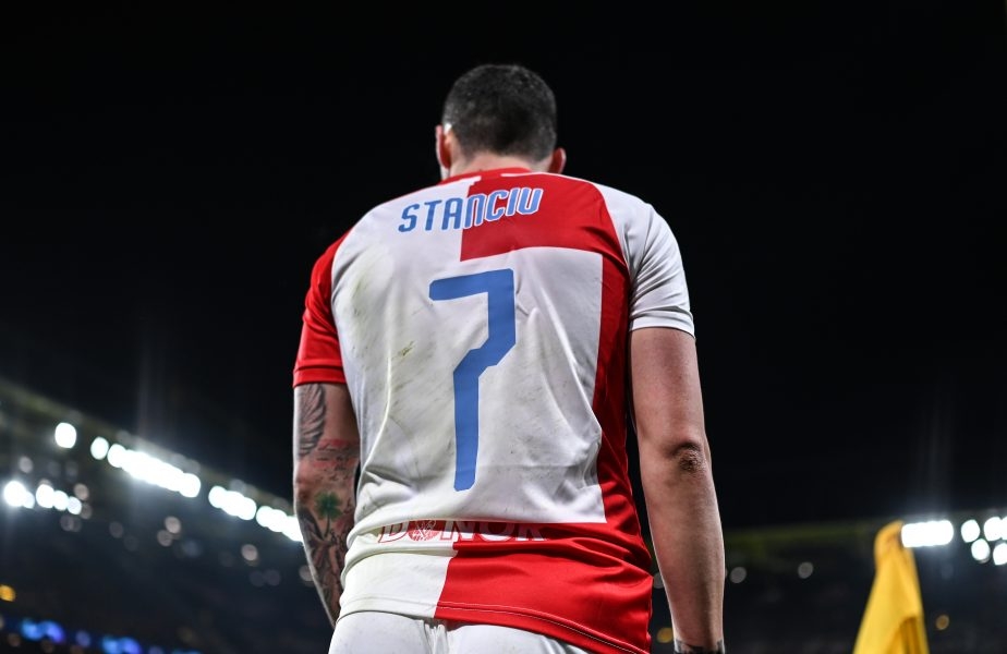 Ceva e putred în Danemarca! Dramă pentru Stanciu! Slavia Praga a fost eliminată din Liga Campionilor, după ce a primit 3 goluri în 8 minute