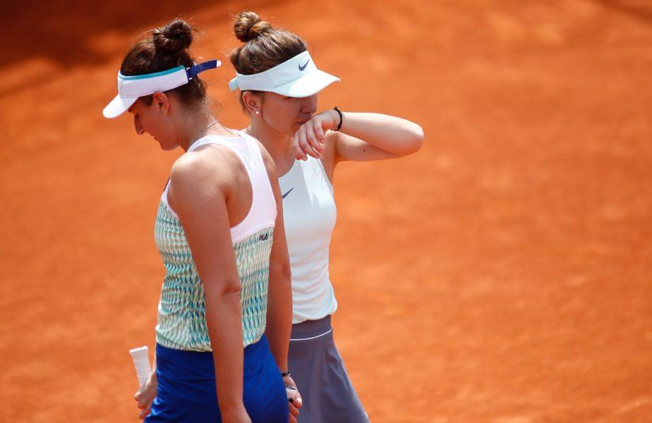 Simona Halep şi Irina Begu au răbufnit în timpul duelului românesc de la Roland Garros