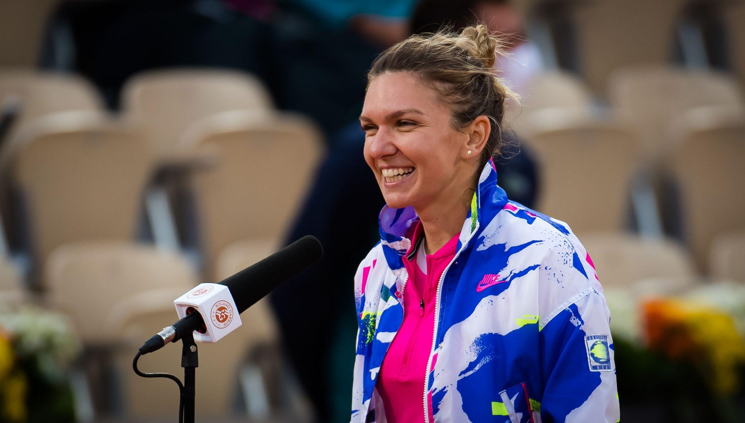 """Halep, fără rivală la Roland Garros!Simona a distrus-o pe Anisimova: """"Știam ce trebuie să fac pentru a câștiga în fața ei"""""""