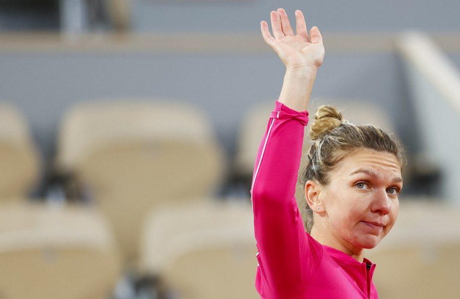"""Simona Halep ştie şi să piardă. I-a făcut pe jurnaliştii francezi să zâmbească! Cum se va """"trata"""" după eliminarea de la Roland Garros"""