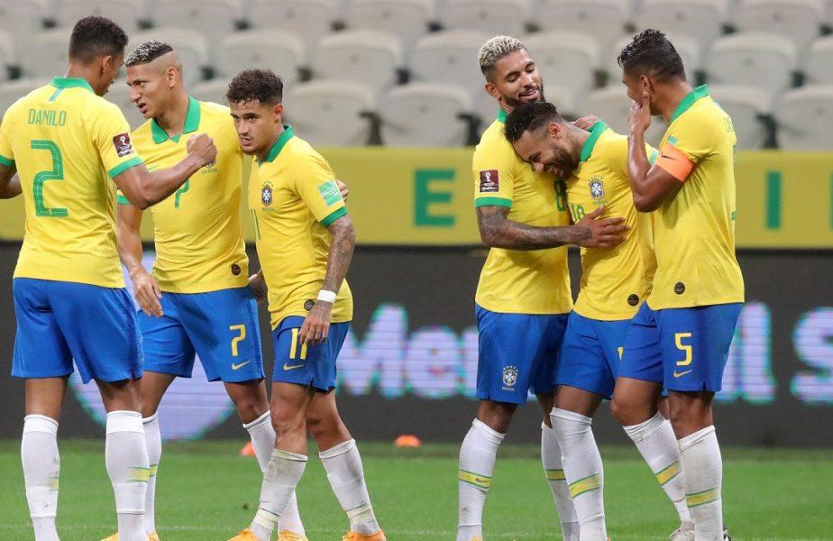 VIDEO | Brazilia – Bolivia 5-0. Spectacol total făcut de Firmino și Neymar în calificările pentru Campionatul Mondial din Qatar