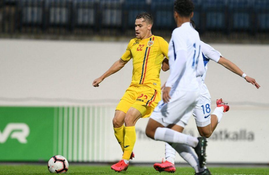 """Motive de nemulțumire în vestiarul României U21. Adrian Mutu, mustrat de Darius Olaru. """"Am jucat prea defensiv!"""""""