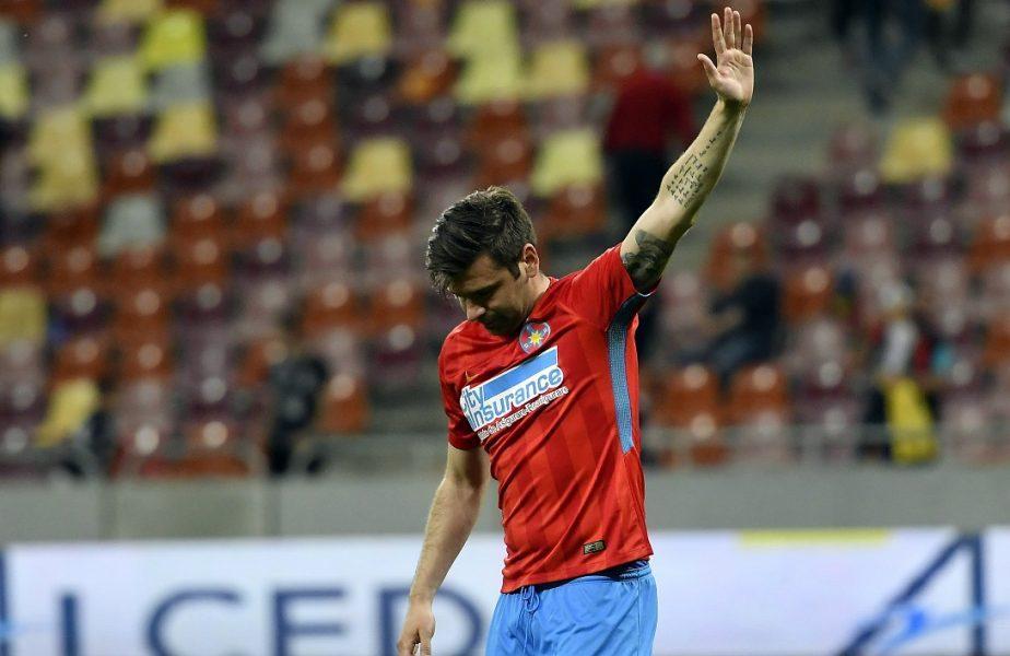 Surpriză de proporții! Raul Rusescu a revenit în Liga 1. Cu cine a semnat atacantul care a câștigat două titluri cu FCSB
