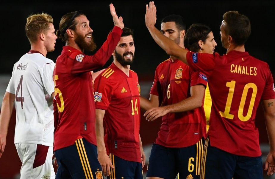 Jucătorii Spaniei