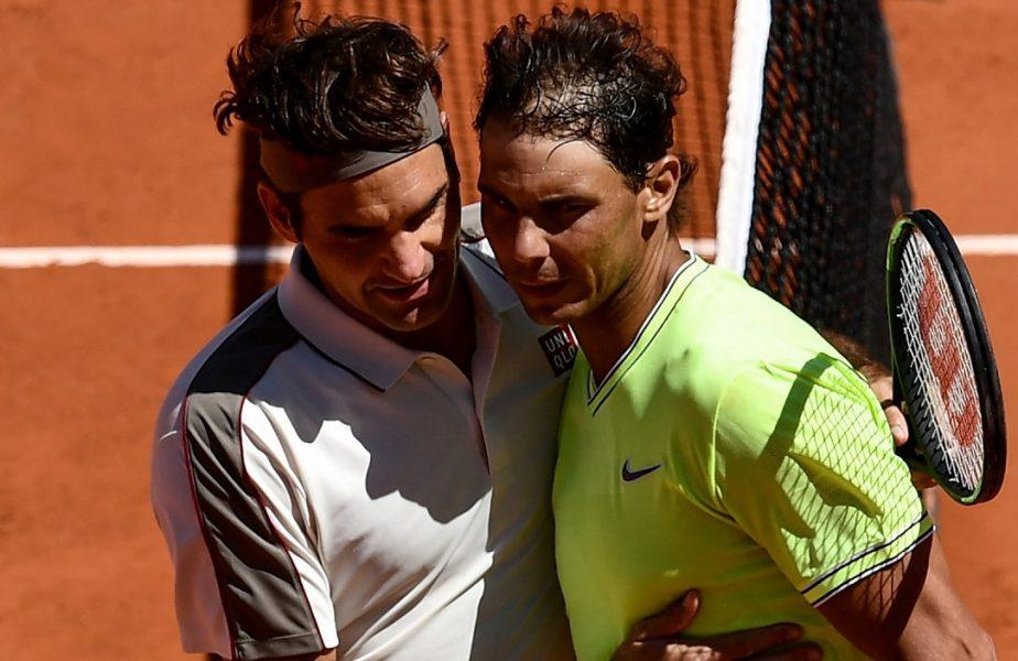 """Roger Federer, reacție de mare campion după ce Nadal i-a egalat recordul. """"Este prietenul meu și e o onoare!"""""""