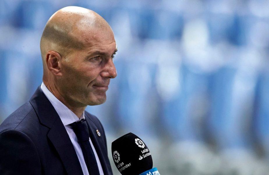 Zinedine Zidane, cerere controversată! Antrenorul lui Real Madrid vrea redeschiderea sălilor de sport. Franța înregistrează un record de cazuri de COVID-19
