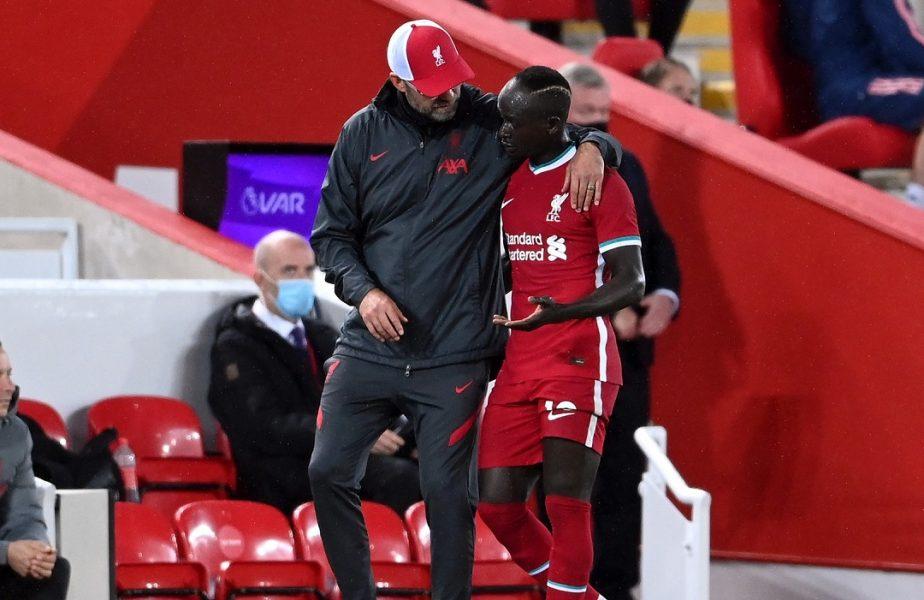 Cele mai bune vești pentru Liverpool. Sadio Mane și Thiago Alcantara s-au vindecat de coronavirus. Pot juca în Merseyside derby!