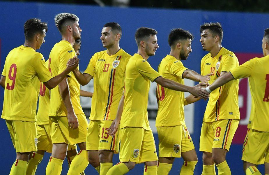 România U21- Malta U21 4-1. Să vină Danemarca! Tricolorii mici câștigă fără emoții și așteaptă meciul decisiv pentru calificare