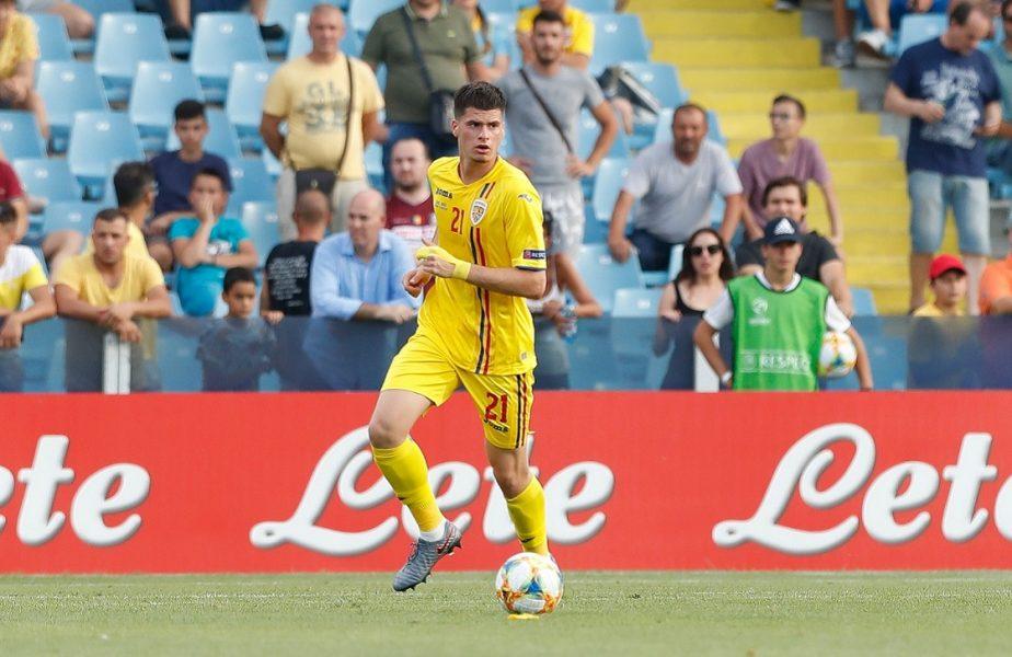 Ce prostie a făcut Tudor Băluță! A văzut roșu în fața ochilor cu Malta U21 și l-a făcut pe Mircea Lucescu să-și pună mâinile în cap