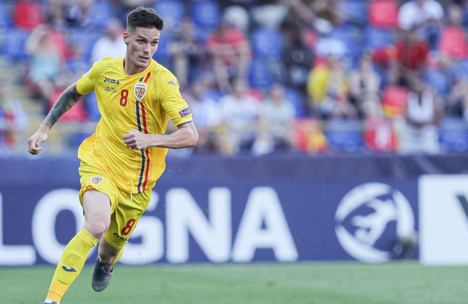 Dennis is the Man! Două goluri și pasă decisivă în tricoul naționalei României U21