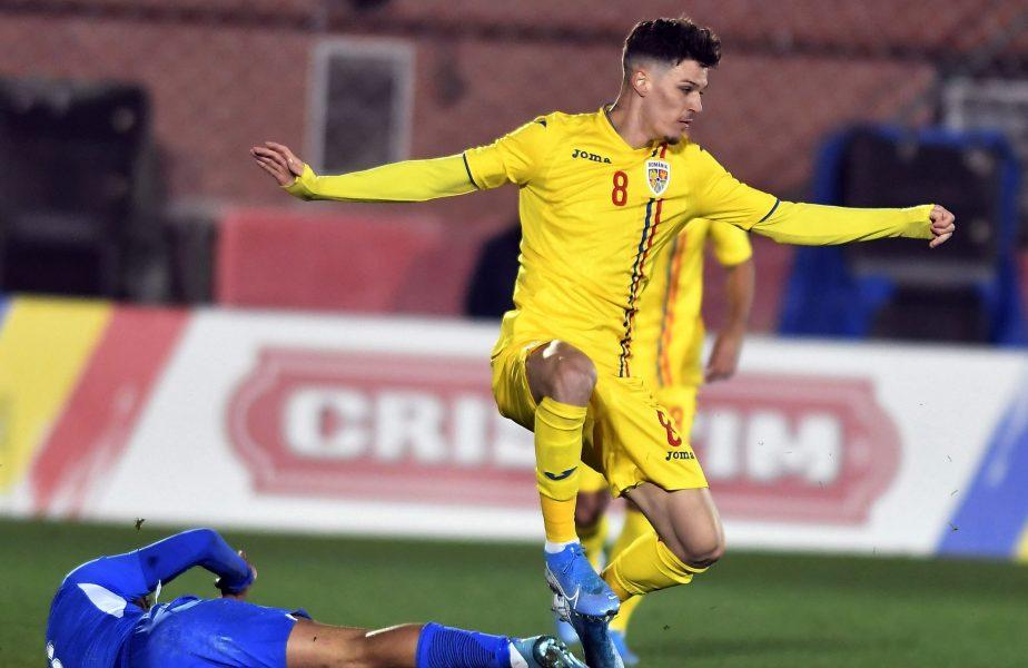 """""""Este o plăcere să intri pe teren la astfel de meciuri!"""" Dennis Man, încrezător în viitor după victoria 4-1 cu Malta"""