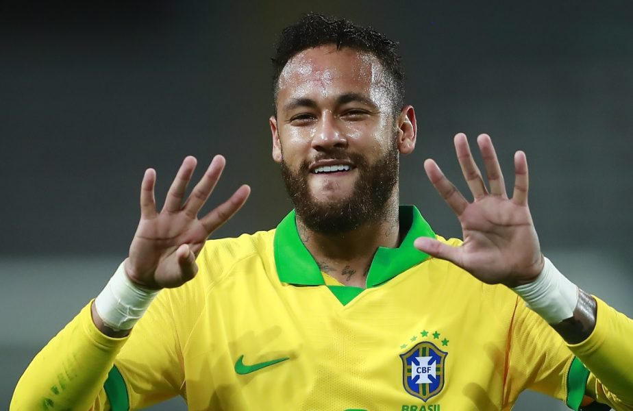 Neymar, hat-trick istoric pentru Brazilia. De ce i-a dedicat primul gol marelui Ronaldo