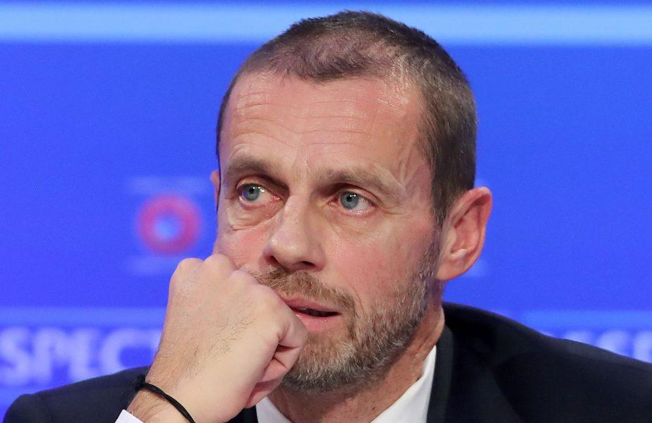 Și bătuți și cu EURO luat? Anunțul care dă fiori României! Declarația șefului UEFA cu privire la Campionatul European de Fotbal