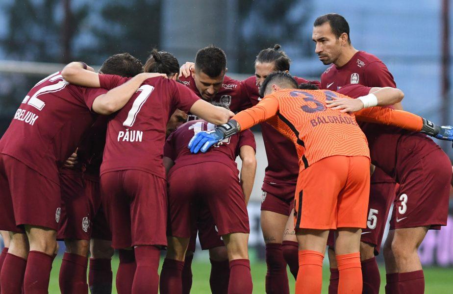 Jucătorii lui CFR Cluj