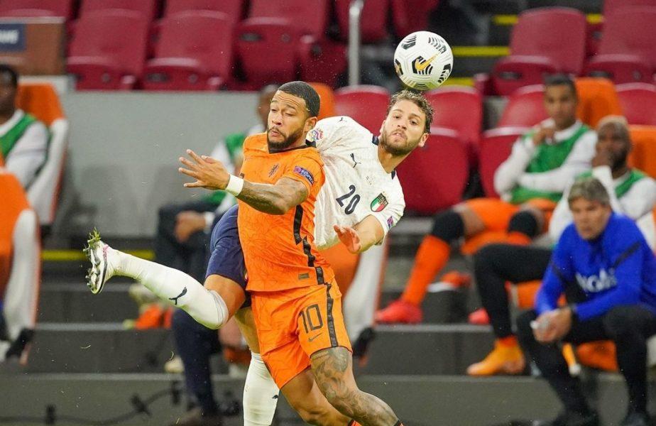 Italia și Olanda s-au duelat în această seară