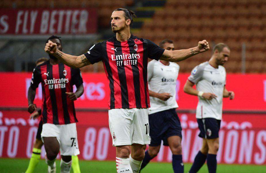 VIDEO   Nebunie la Milano! King Zlatan a acaparat Derby della Madonnina. Dublă în 3 minute