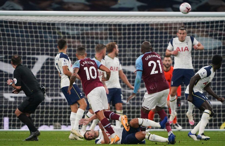 VIDEO | Lui Jose Mourinho nu îi vine să creadă! Tottenham a condus cu 3-0 în minutul 82, dar nu a câștigat. Gol fabulos al lui West Ham la ultima fază!