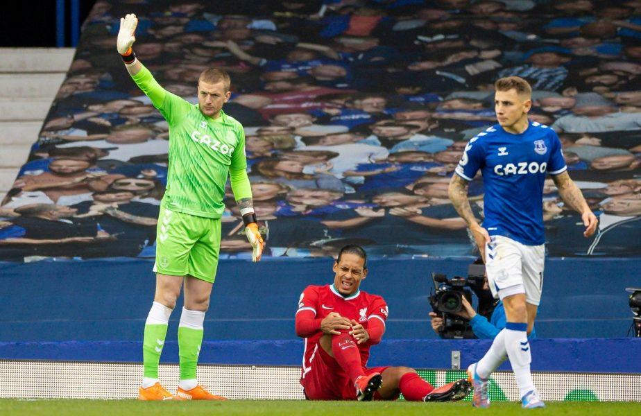 """Virgil van Dijk, mesaj emoționant după ce s-a accidentat grav în Merseyside derby. """"Voi reveni mai puternic ca niciodată!"""""""