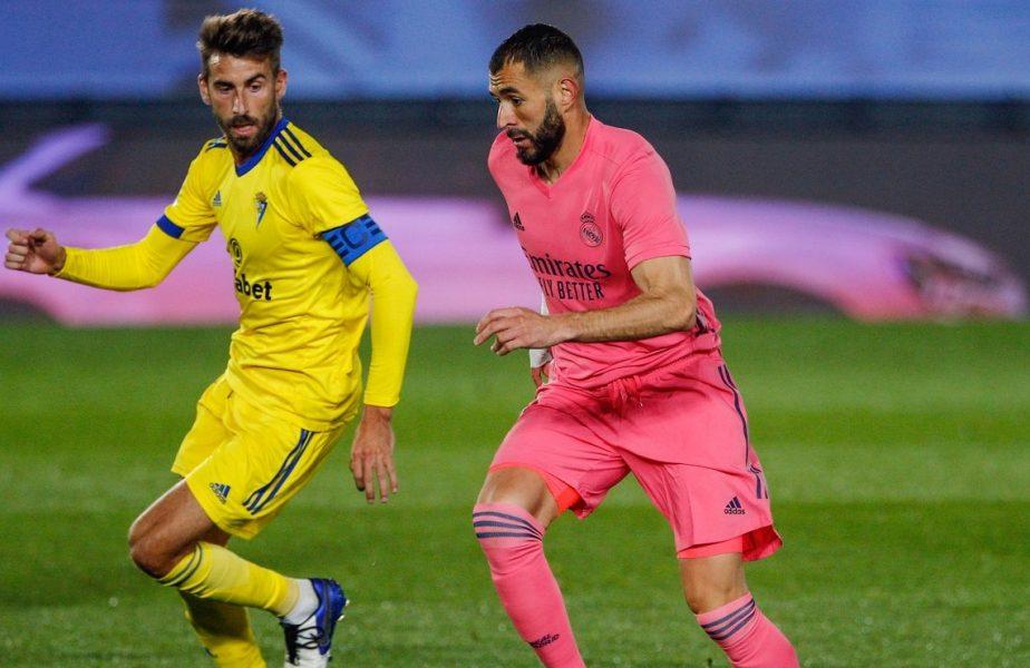 """Karim Benzema are o nouă tactică: Îi seduce pe adversari. """"Miroși atât de bine!"""" Ce i s-a întâmplat francezului după meciul cu Cadiz"""