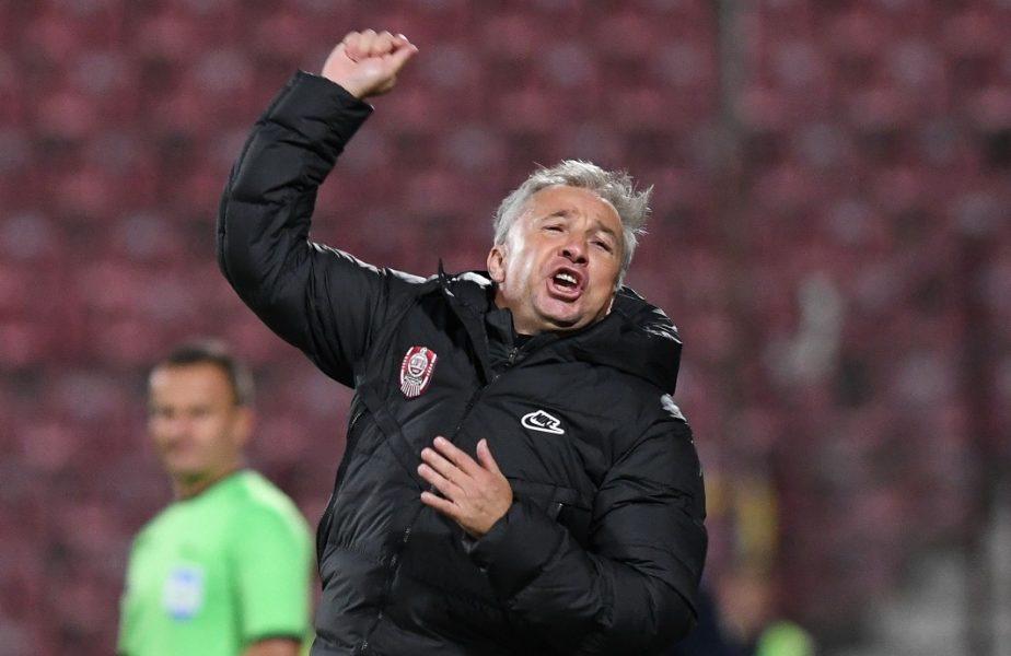 """Dan Petrescu, nemulțumit înaintea startului în grupele Europa League. """"Acesta este marele minus al lui CFR Cluj"""""""