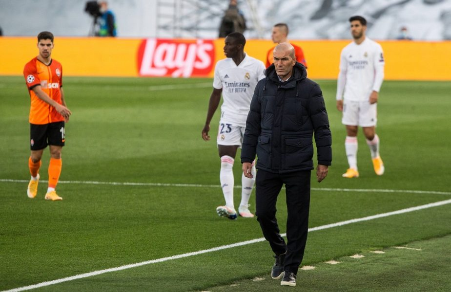 HALUCINANT! Ce se întâmplă cu starurile lui Zidane? Real Madrid, repriză de coșmar cu Șahtior Donețk! De două decenii nu a mai pățit așa ceva