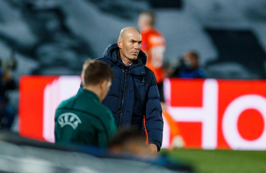 """""""E clar că îți lipsesc toate!"""" Zidane și asumă vina pentru rușinea cu Șahtior: """"A fost o seară urâtă"""""""