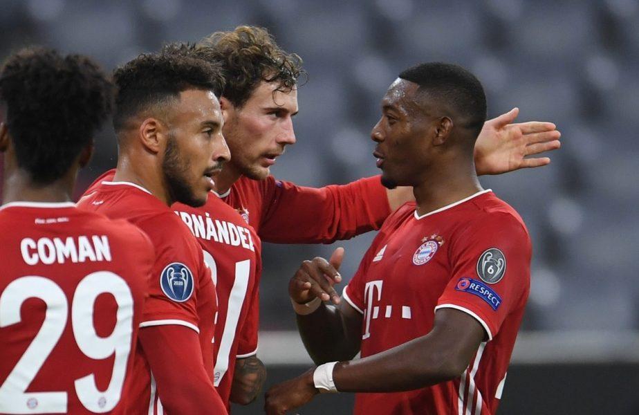 """Le-au dat patru, ca la teatru! Bayern, record uluitor în ultimul an. Ce au reușit """"demolatorii"""" lui Hansi Flick cu Atletico Madrid"""