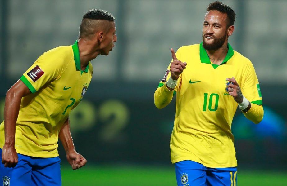 Ai grijă ce arăți la cameră! Neymar a făcut public numărul unui coleg de națională în timpul unei transmisiuni live. Ce a urmat întrece orice imaginație