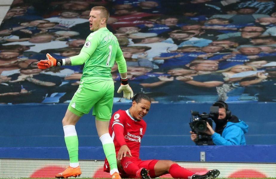 """""""Ar putea să nu mai fie niciodată la fel!"""" În cât timp se poate întoarce Virgil van Dijk după accidentarea groaznică cu Everton"""