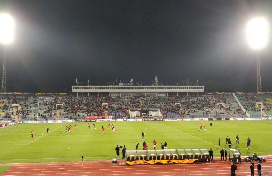 CSKA Sofia – CFR Cluj 0-2. Nebunie în Bulgaria! Campioana României a făcut spectacol! Echipa lui Dan Petrescu e lider în Grupa A din Europa League
