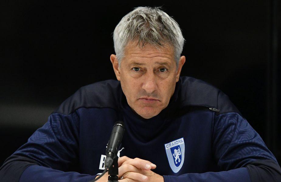 """Cristiano Bergodi sare în apărarea lui Rădoi! Ce soluție are tehnicianul oltenilor: """"El poate antrena Universitatea Craiova"""""""