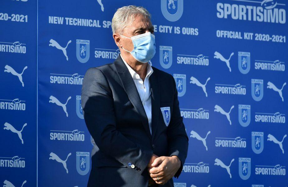 """""""Un șoc greu de digerat!"""" Sorin Cârțu a răbufnit după înfrângerea neașteptată a Craiovei. Cum a descris jocul oltenilor"""