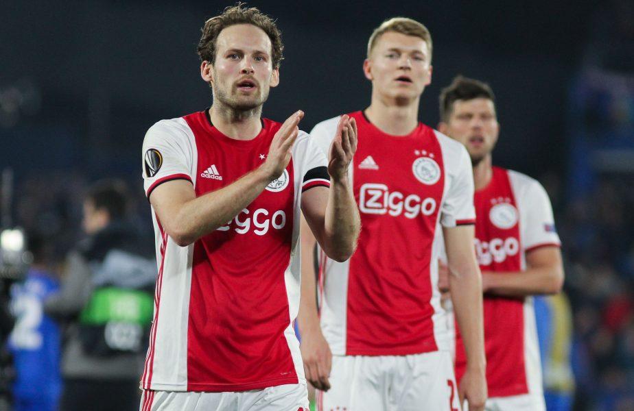 Uluitor! Ajax, scor ireal în campionat. La pauză conducea cu 4-0, dar ce a urmat este halucinant