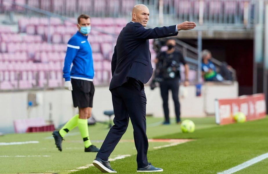 """Un fleac, i-am ciuruit! Reacția lui Zidane, după victoria uriașă cu Barcelona: """"Sunt doar trei puncte, nimic mai mult"""""""