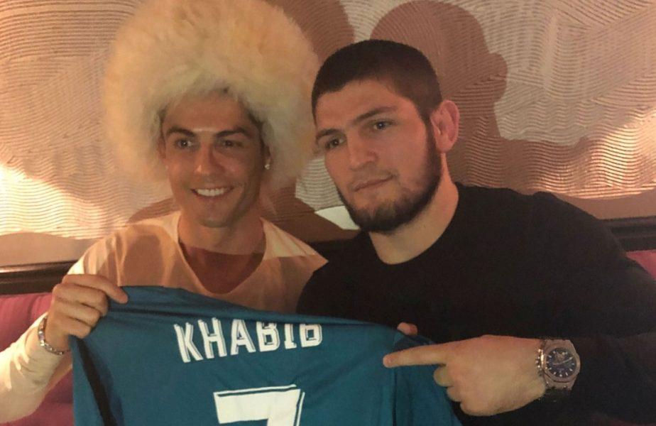 """""""Tatăl tău este mândru!"""" Cristiano Ronaldo, reacție de mare campion după ce Khabib și-a anunțat retragerea"""