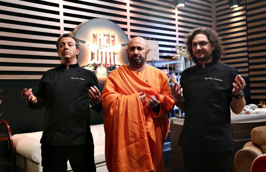 Cătălin Scărlătescu le poate da lecții fotbaliștilor! S-a transformat în Buddha după un conflict în Chefi la cuțite