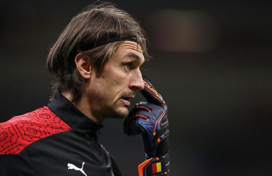 """""""Nu apără Tătărușanu!"""" Goalkeeper-ul român poate reveni pe bancă după un singur meci. Cum îl critică presa din Italia"""