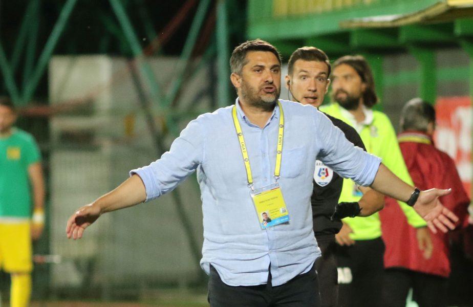 Claudiu Niculescu, OUT de la CS Mioveni înaintea meciului cu Rapid. Giuleștenii s-au despărțit și ei de Adrian Iencsi