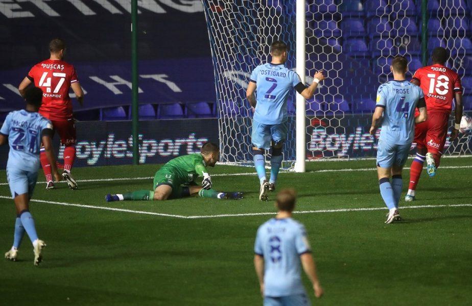 George Puşcaş a marcat din nou pentru Reading