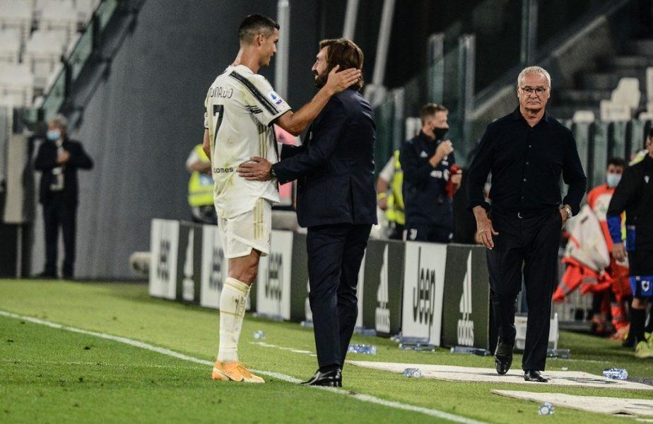 Cristiano Ronaldo s-a vindecat de Covid-19, dar încă are bătăi de cap din cauza virusului. Anunţul făcut de Andrea Pirlo